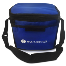 Legend heated lunch tote in Royal Blue